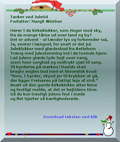 dejlige jul tekst